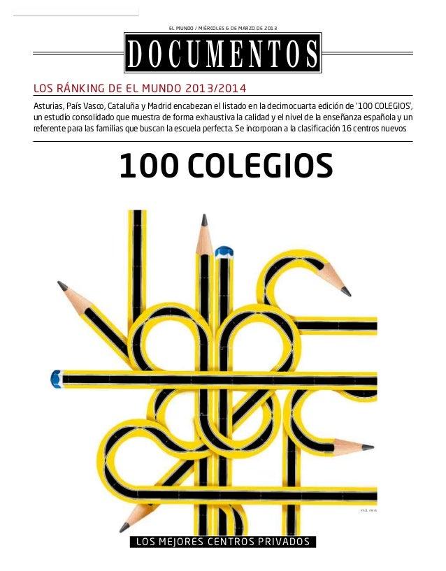100 colegios el mundo 2013 2014