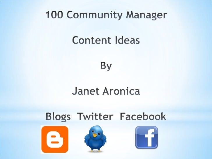 Content creation is at the core for every    community manager's role in keeping their               audience engaged.  Fr...