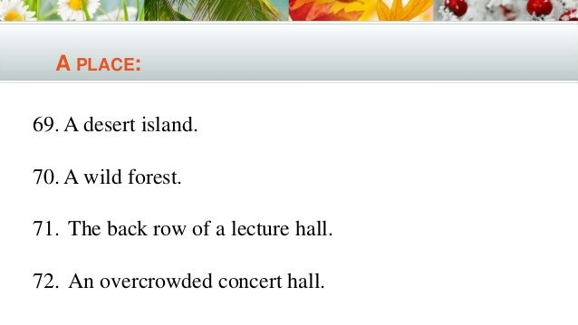 Alone on a deserted island essay