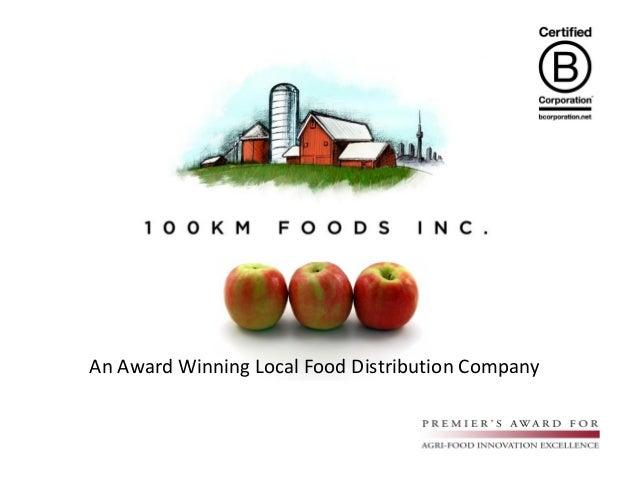 An Award Winning Local Food Distribution Company