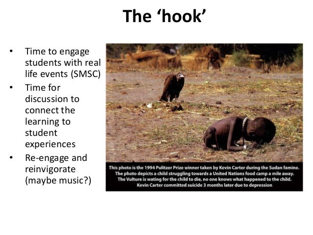 The 'hook' • Time to engage students with real life events (SMSC) • Time for discussion to connect the learning to student...
