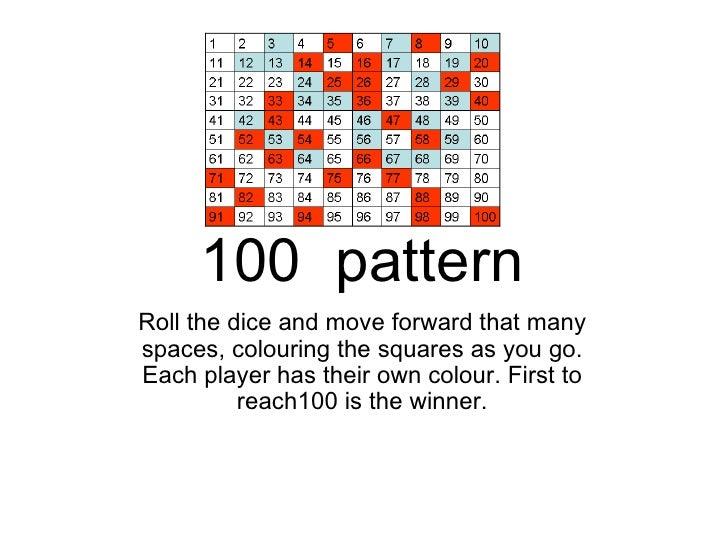 markov 100 dice rolls