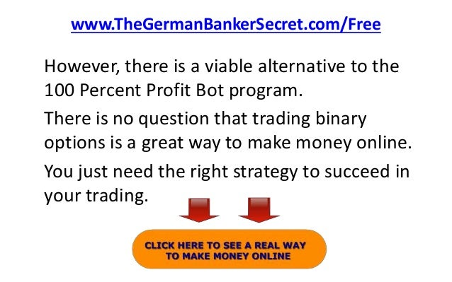 Binary options robot activation key