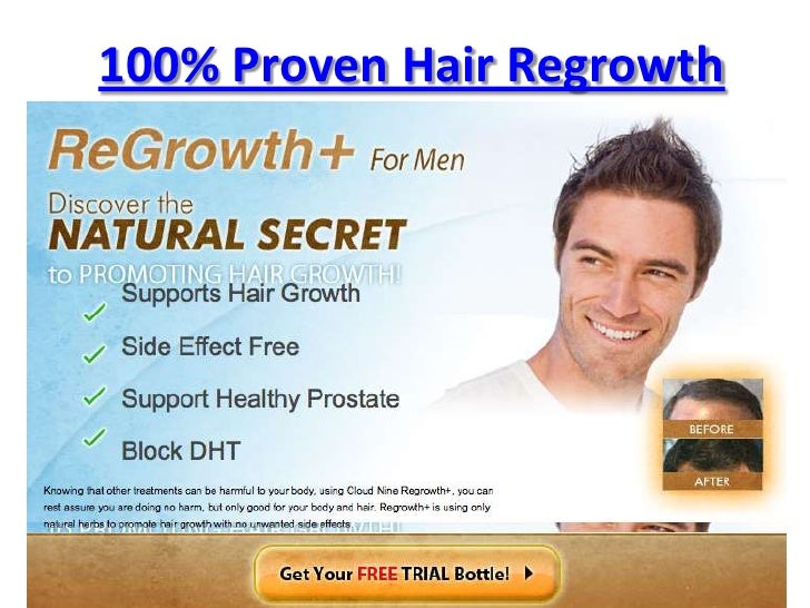 100% Proven Hair Regrowth<br />Hair Regrowth<br />
