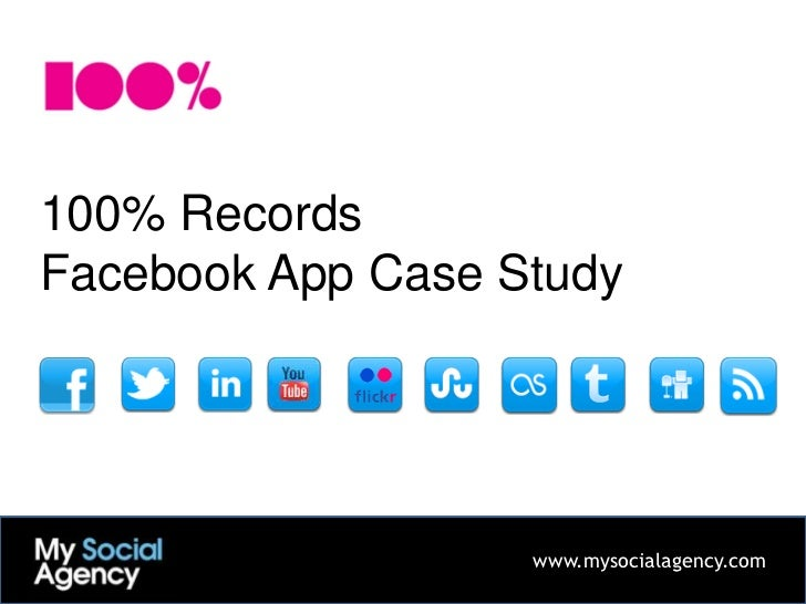 100% Records Social Media case study