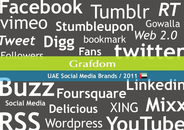 100 UAE Social Media Brands, 2011 Report