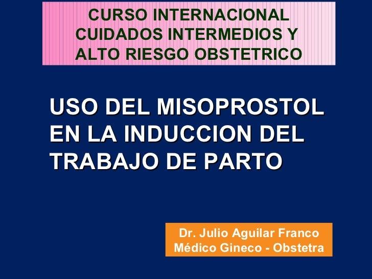 misoprostol en induccion del parto pdf