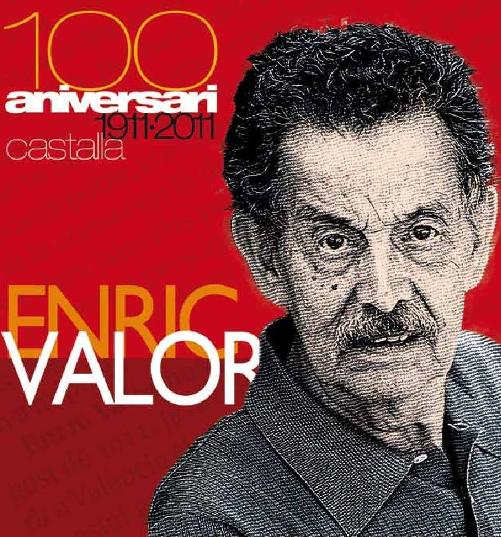 """PROGRAMA D'ACTIVITATSDel 18 al 26 de març - Casa de Cultura:             Exposició itinerant """"Enric Valor: el valor de    ..."""