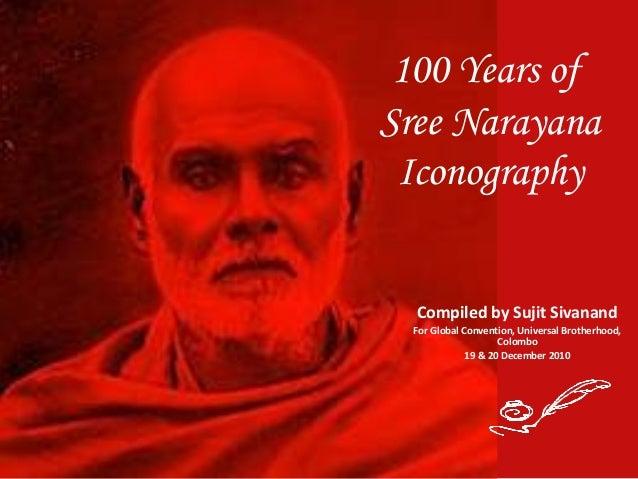 100 Years of Sree Narayana Iconography