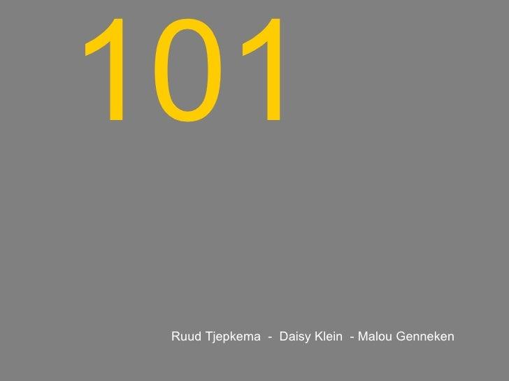 101 Ruud Tjepkema  -  Daisy Klein  - Malou Genneken