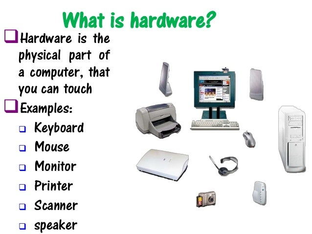 Arbeitsblätter Computer Hardware : Understanding computers introduction to