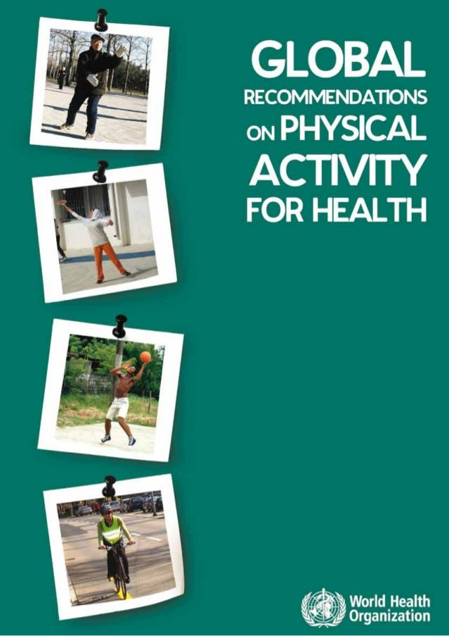101   global recommendations on physical activity for health