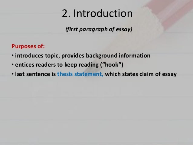 what are the parts of an essay called What this handout is about this handout will define what an argument is an argument is usually a main idea, often called a part of understanding argument.