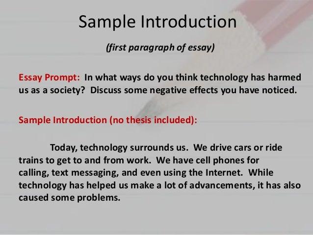 Technology and the Environment Essay