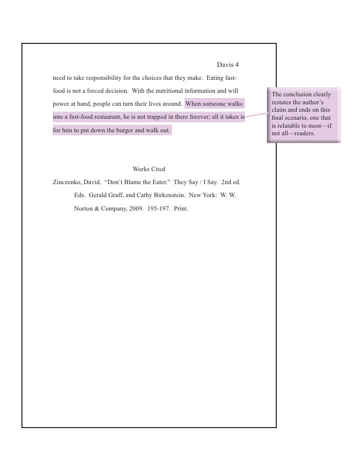 obesity research paper thesis statement