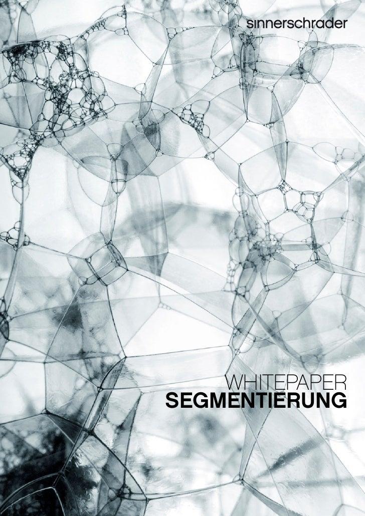 Whitepaper Segmentierung - Von durchschnittlicher Analyse zu präzisen Segmenten
