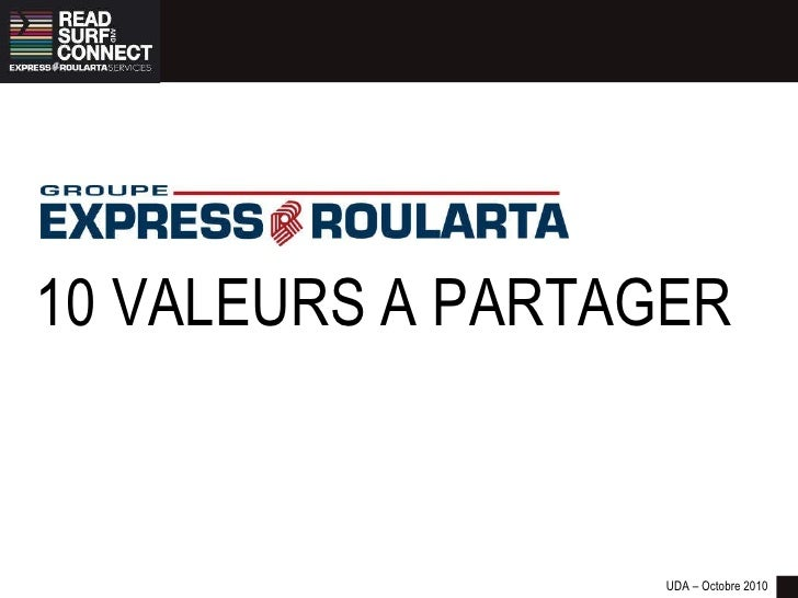 Groupe Express Roularta, what's up ?