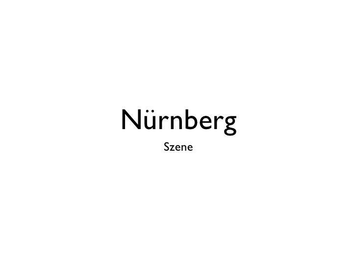 Nürnberg   Szene