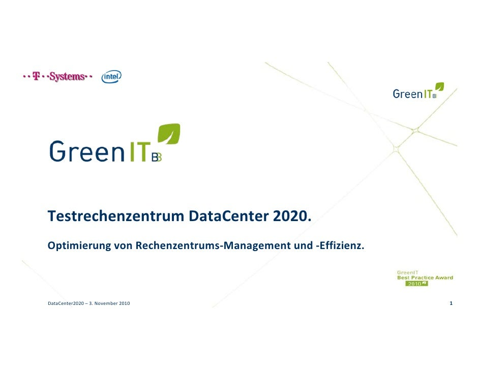T-Systems - DataCenter 2020
