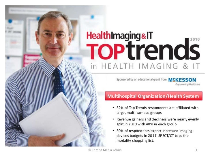 © TriMed Media Group<br />1<br />Multihospital Organization/Health System<br /><ul><li>32% of Top Trends respondents are a...