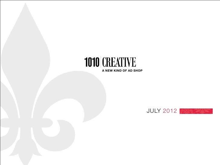 1010 Creative presentation final