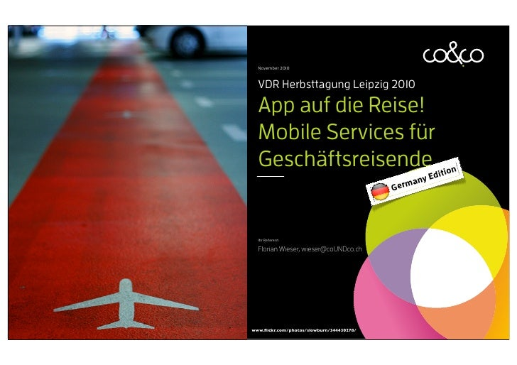 App auf die Reise - Germany edition