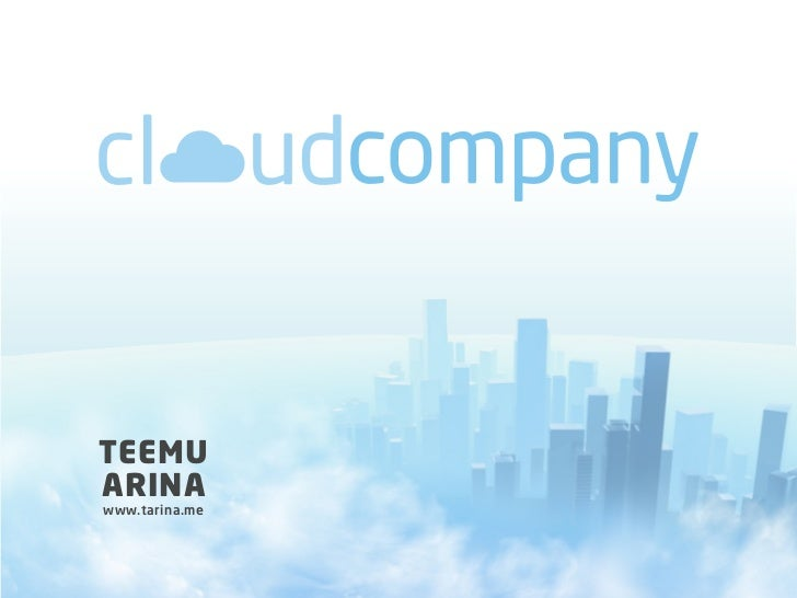 Cloud Company - Designing a Faster and More Intelligent Organization for the Digital Era