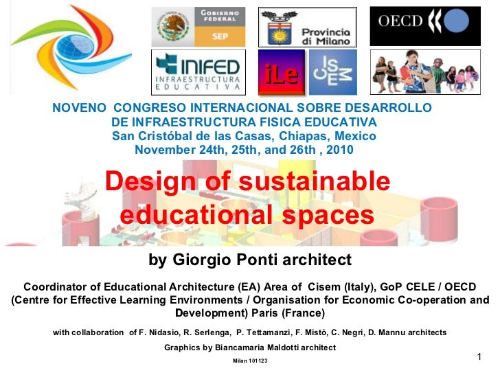 101123 Intelligent Innovative Educational by Giorgio Ponti (CISEM) ItalyFacilities