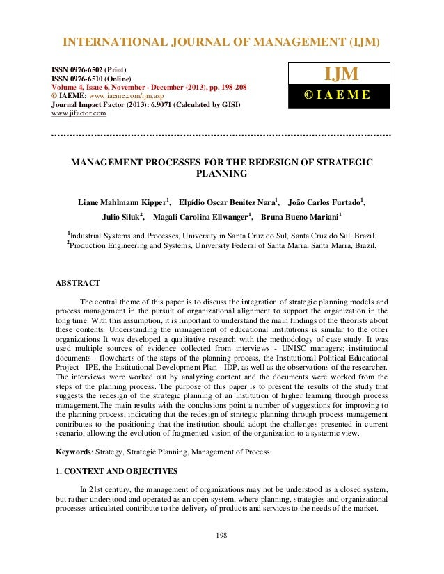 International Journal of Management (IJM), ISSN 0976 – 6502(Print), ISSN 0976 - 6510(Online), INTERNATIONAL JOURNAL OF MAN...