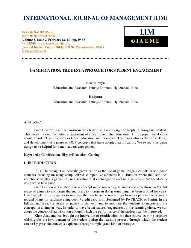 International Journal of Management (IJM), ISSN 0976 – 6502(Print), ISSN 0976 - 6510(Online), Volume 5, Issue 2, February ...
