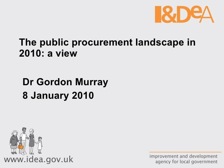 Procurement Landscape In Public Sector 2010