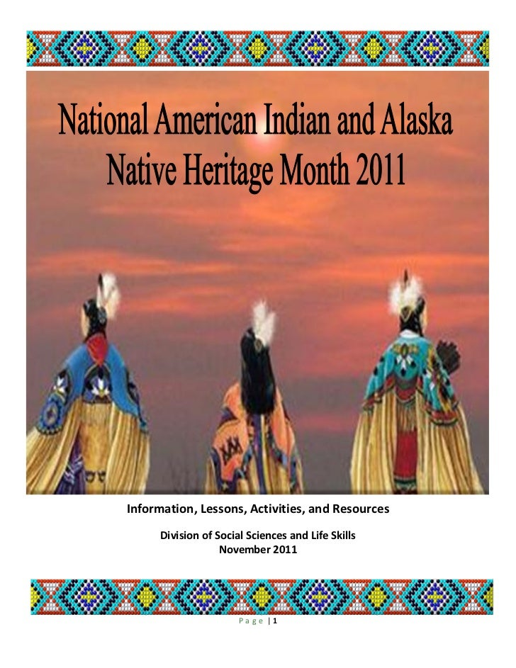 Native American History Month 2011