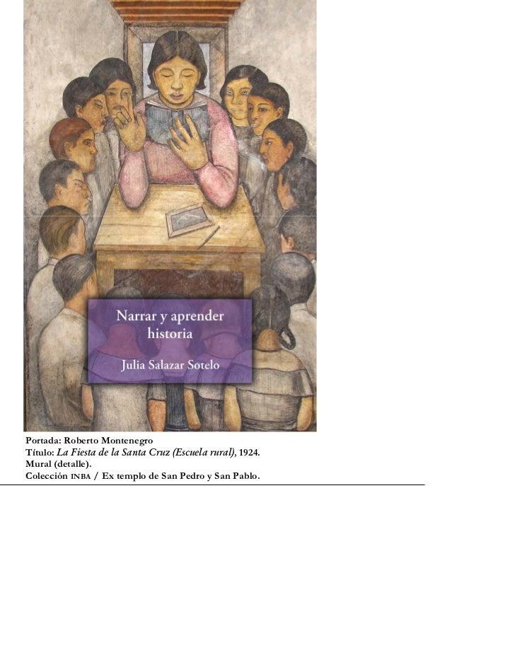 Portada: Roberto MontenegroTítulo: La Fiesta de la Santa Cruz (Escuela rural), 1924.Mural (detalle).Colección INBA / Ex te...