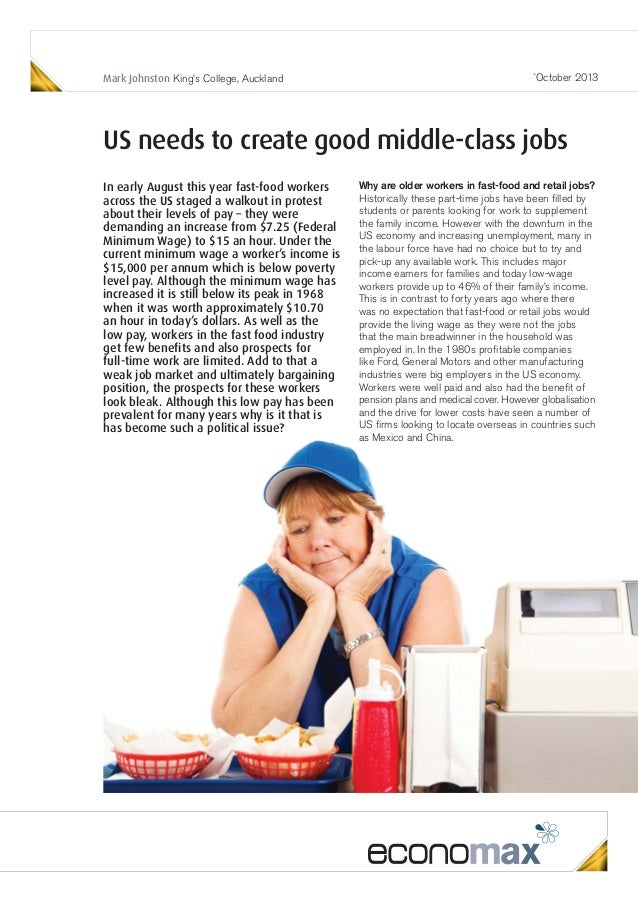 econoMAX - US needs to create good middle-class jobs
