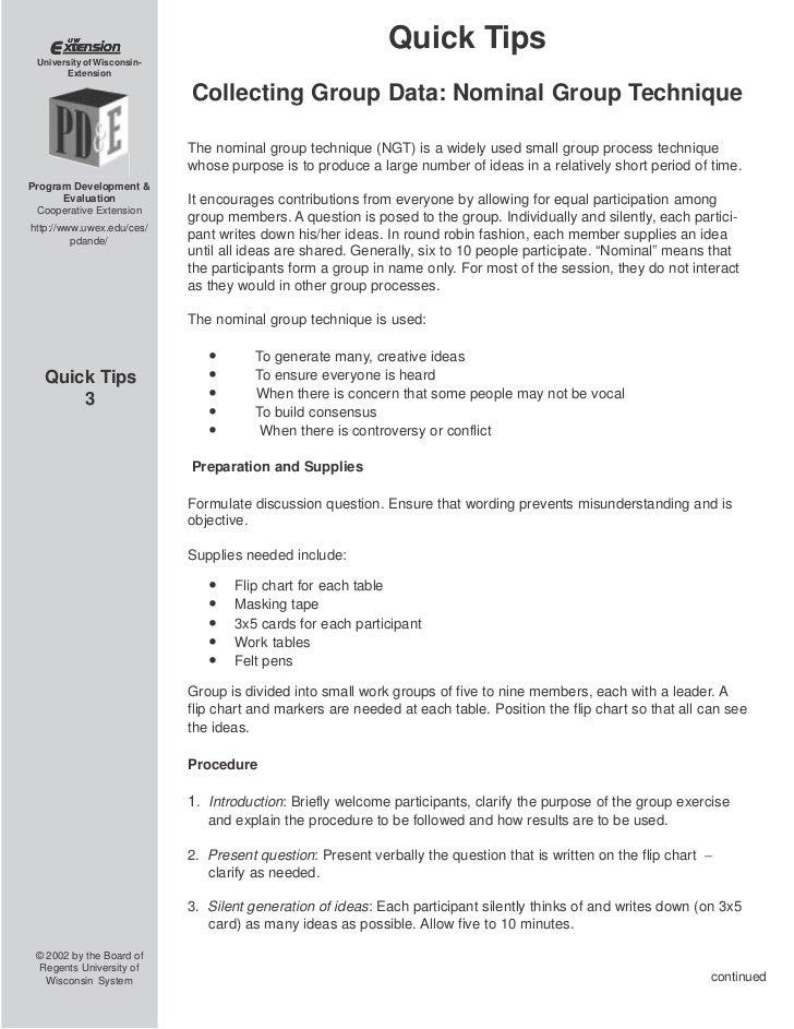 Tipsheet_Nominal_Group_technique