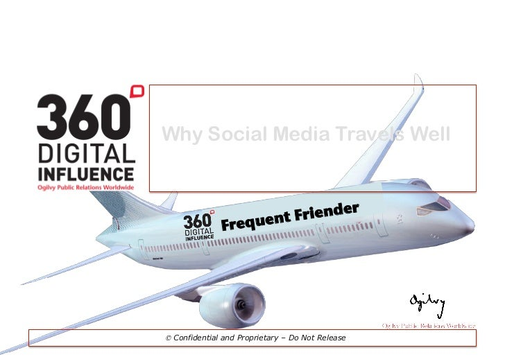 Ogilvy on: Travel and Social Media