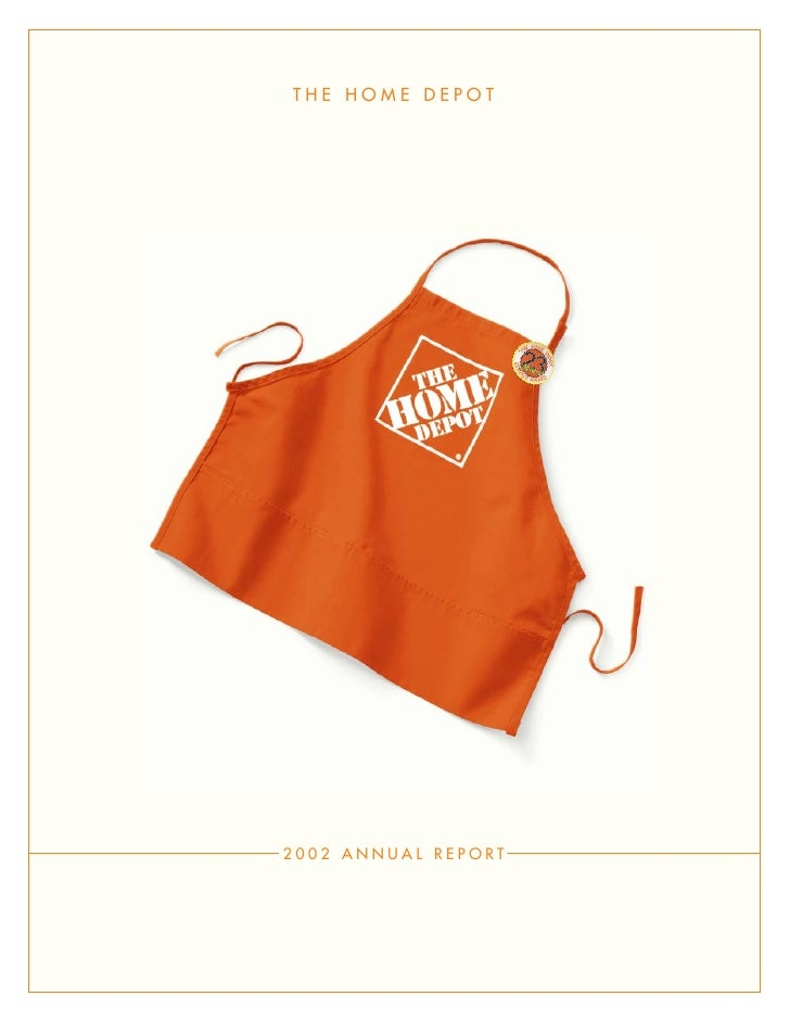 THE HOME DEPOT                          ®     2002 ANNUAL REPORT