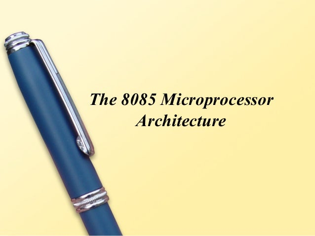 8085 for Architecture 8085