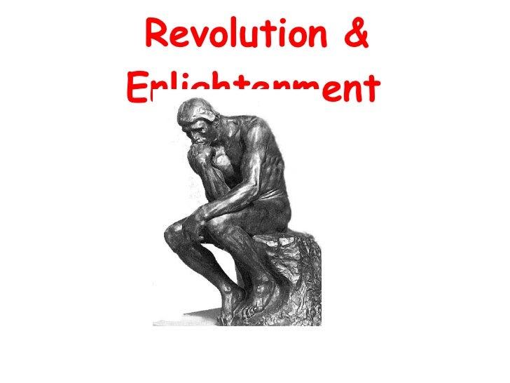 Revolution & Enlightenment