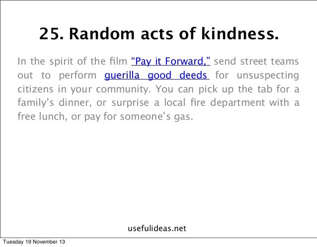 essay on the act of kindness - acting in kindness together a random act of kindness by definition is understood to be unsystematically acting in  hero essay, essay about family] good.