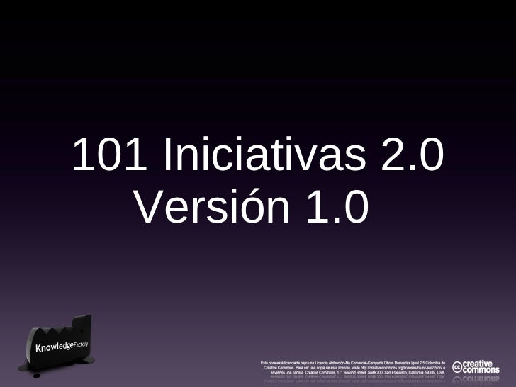 101 iniciativas 2.0 (laboratorios, casos_estudio)