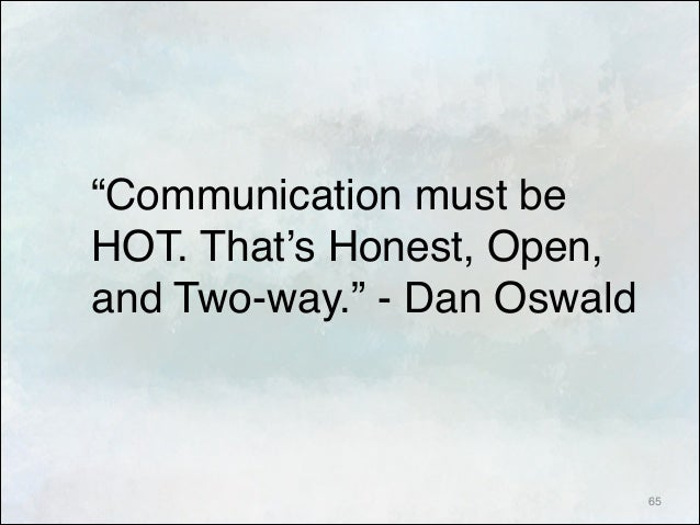 strengthen relationship with open and honest communication in the workplace