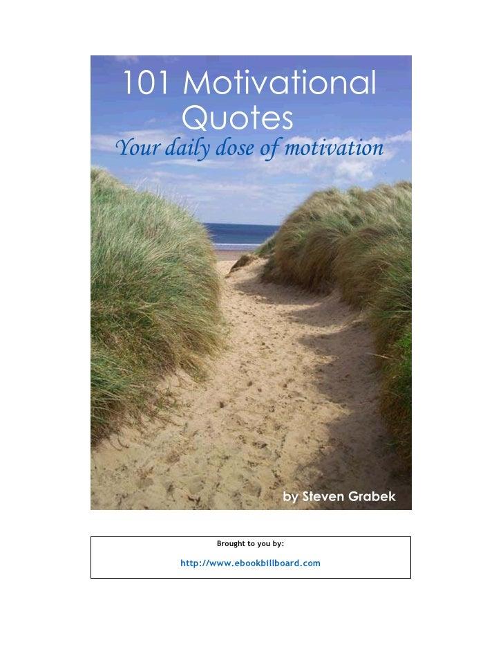 101 motivation quotes