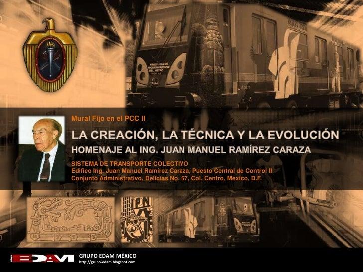 MURAL LA CREACIÓN, LA TECNOLOGÍA Y LA EVOLUCIÓN