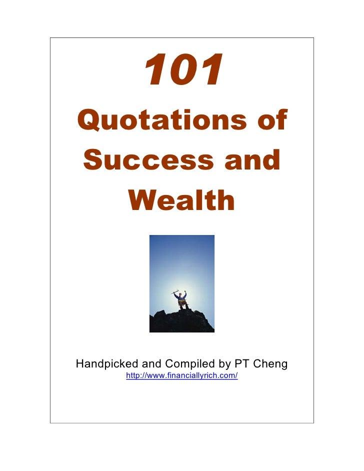 101 success quotes