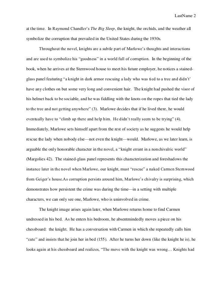 sample essay love