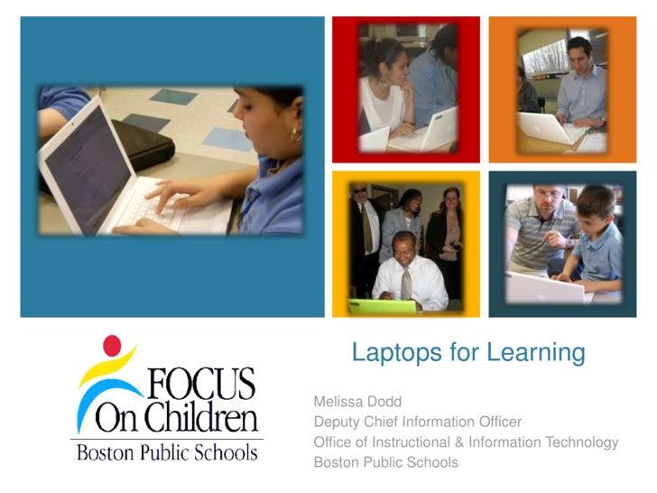K12 Tech Summit Laptops for Learning 102009