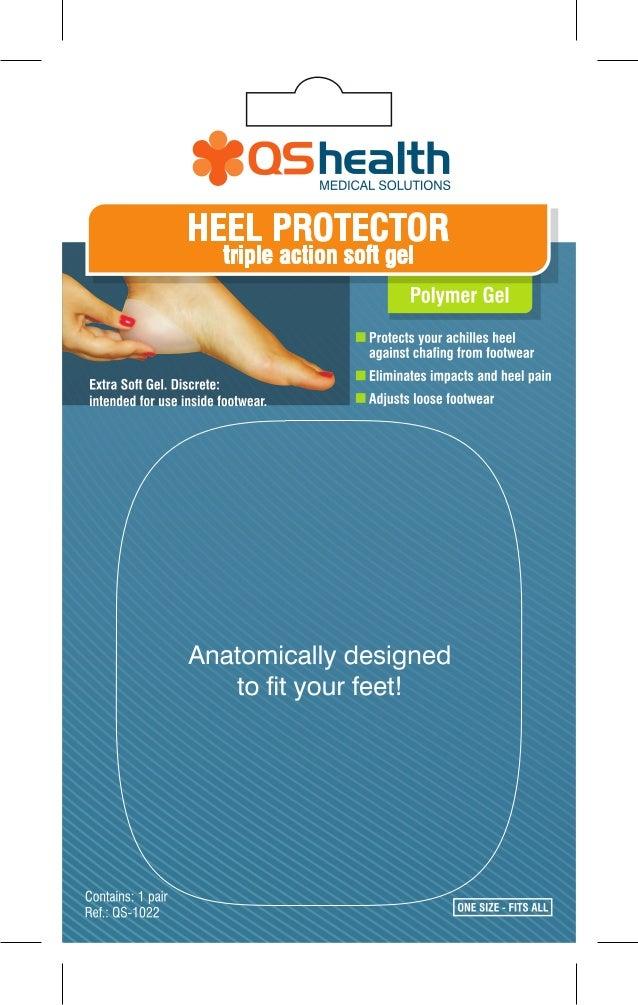 Heel Protector Triple Action Soft Gel