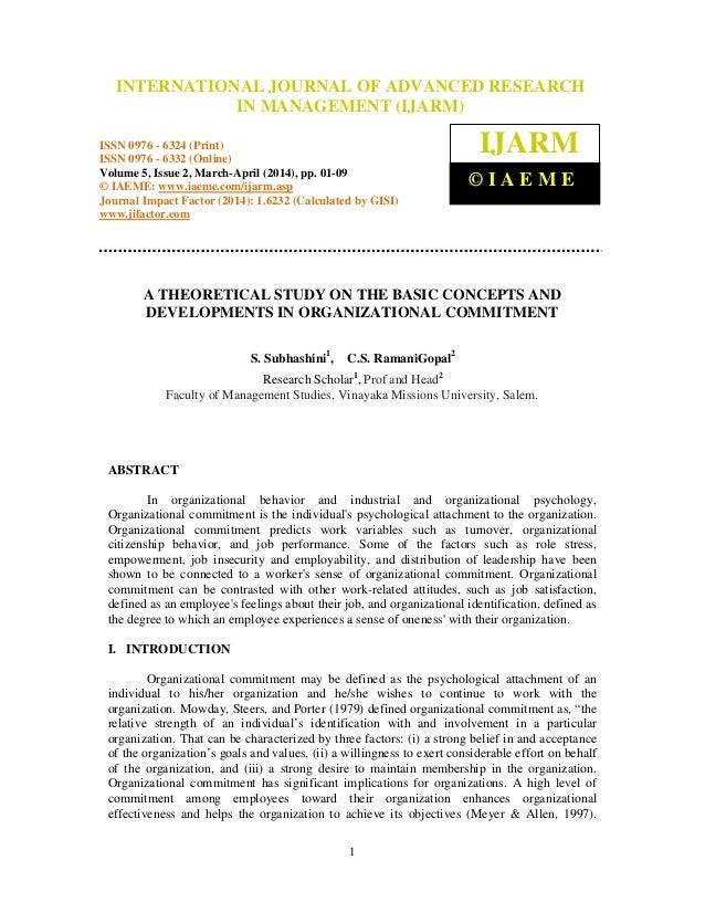International Journal of Advanced Research in Management (IJARM), ISSN 0976 – 6324 (Print), INTERNATIONAL JOURNAL OF ADVAN...