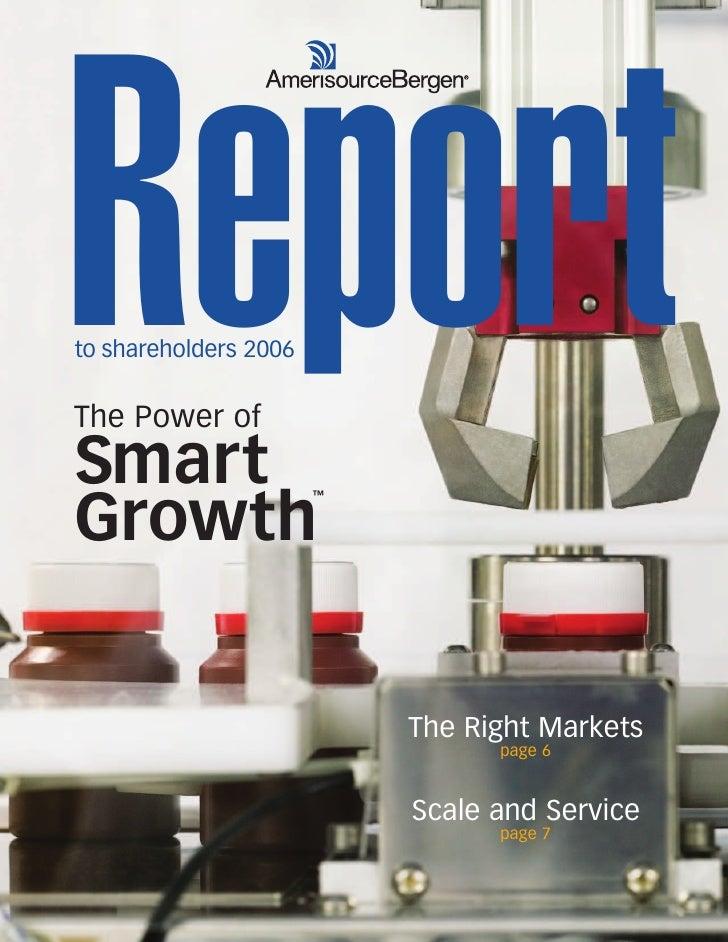 amerisoureceBergen 2006 AmerisourceBergen Annual Report